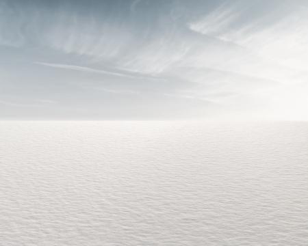 frozen lake: Mooie bevroren meer en de hemel voor achtergrond Stockfoto