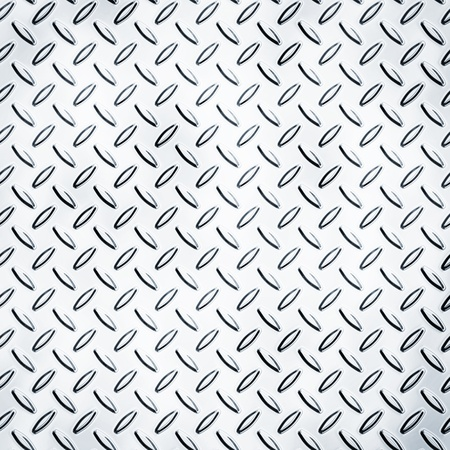 aluminum plate: Texture of a metal diamond plate Stock Photo