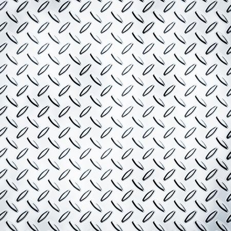 diamond plate: Texture of a metal diamond plate Stock Photo