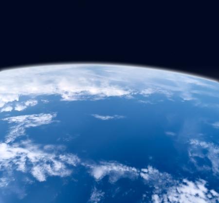 Digital photo manipulation of planet earth Stock Photo - 18274762