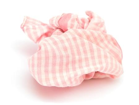 Handkerchief isolated on white Stock Photo - 18623672