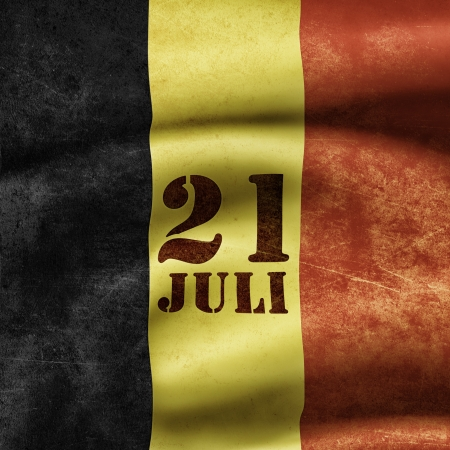 national holiday: Illustration of the national holiday of Belgium