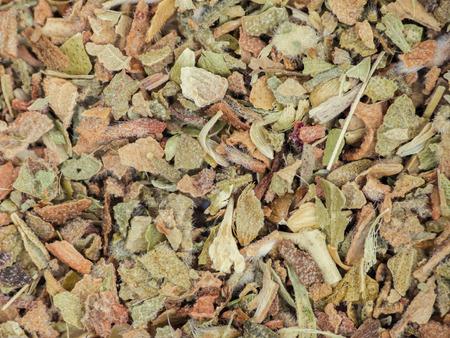 foe: Dried oregano overhead view foe texture  Stock Photo