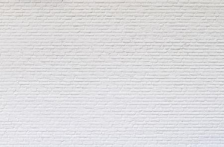 Witte bakstenen muur voor textuur of achtergrond Stockfoto