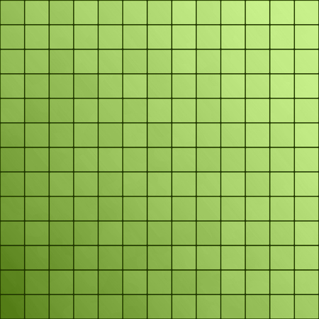 color of year: Green square tiles pattern background, greenery, color of the year 2017 Stock Photo
