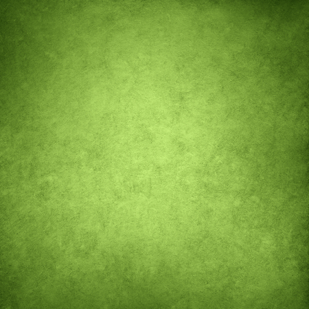 color of year: Vintage green paper with vignette for texture or background, greenery color of the year 2017 Stock Photo