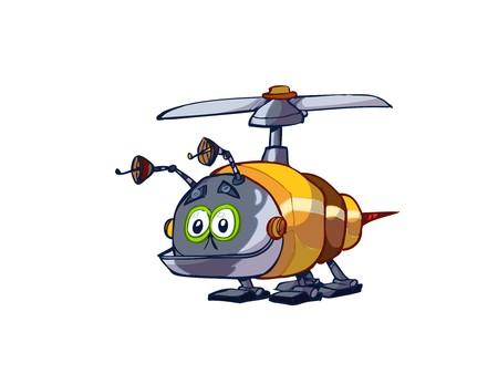 bot: Bee robot  Illustration