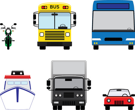 Transport icon Illustration