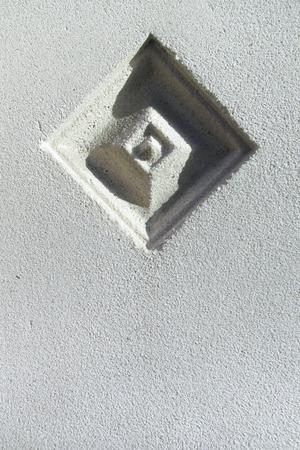 Ornament in architectural modern stone