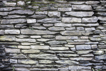 background of a abstract stone wall in Durbuy, Belgium