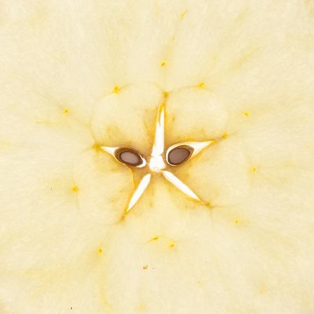 Pomme à éplucher coupée en tranches Banque d'images - 93270785