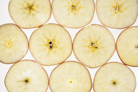 jonagold apple cut in slices