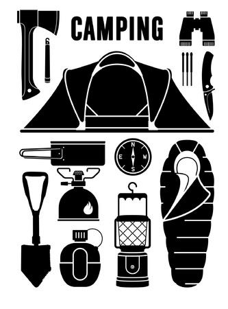 trek: camping