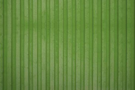 Green Wooden Wall