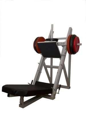 Leg Press with wights