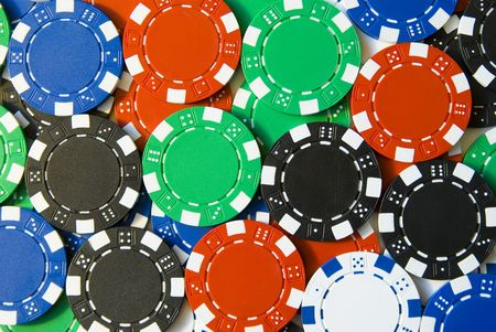 lots of poker chips photo