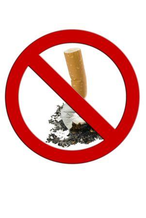 Cigarette Butt, Anti smkoking