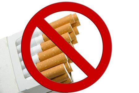 Cigarette Package, anti smoking