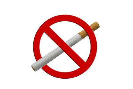 anti smoking: Lonley Cigarette, anti smoking