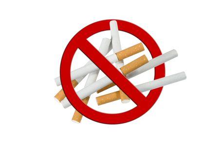 Cigarette Pile, anti smoking