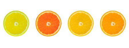 4 slices of citrus