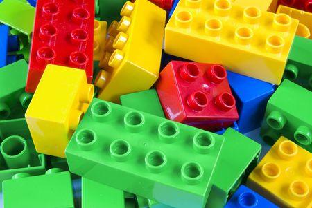 Building bricks Stock Photo