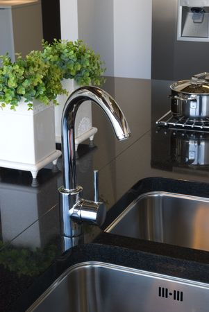 stainless steel kitchen: Kitchen Sink
