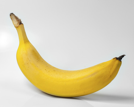 Banana isolated on a white background