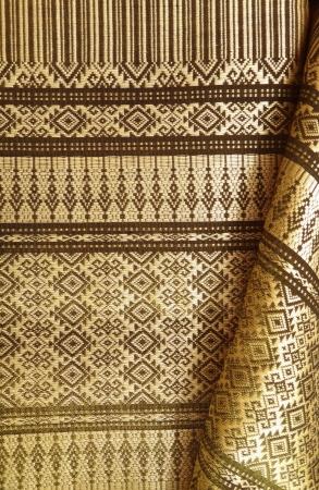 Thai silk weave by handmade 1