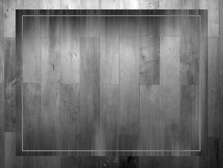 grunge wood frame mono tone Stock Photo - 17345098