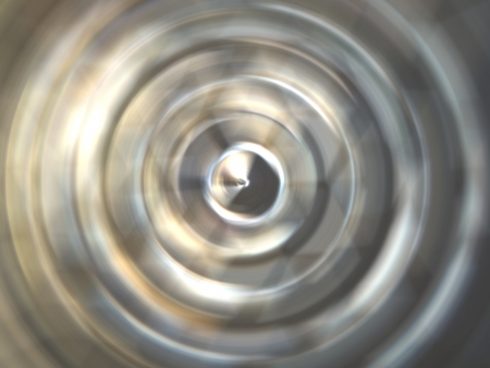 abstract spinning object