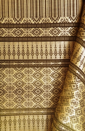Thai silk weave by handmade