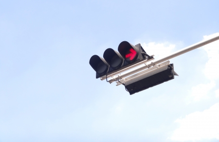 traffic red light Stock Photo - 17345073
