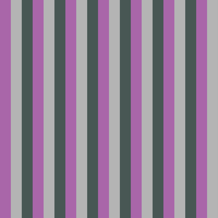 Lilac Colored Vertical Stripes Seamless Pattern. Tricolor corrugated texture closeup. Perfect for wrapping paper, decoration, wallpaper, fabric design. Stock Illustratie