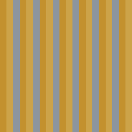 Brown Colored Vertical Stripes Seamless Pattern. Tricolor corrugated texture closeup. Perfect for wrapping paper, decoration, wallpaper, fabric design. Stock Illustratie
