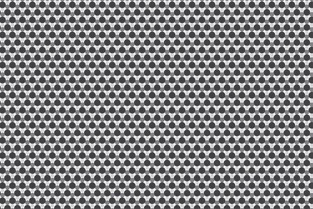 Simple Grey Circles Texture Original Vector Illustration Ilustrace