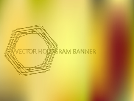 Bronze Colors Gradient Banner Template. Mesh Colorful Vector Background. Shiny Foil Iridescent Texture. Perfect for Covers, Wallpapers, Presentations. Bright Colors Blurred Gradient Backdrop. Иллюстрация