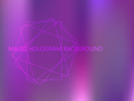 Violet, magenta, blue vector blurred bright template. Neon colors gradient banner template. A vague abstract illustration with gradient. The elegant pattern can be used as part of a brand book. Ilustração
