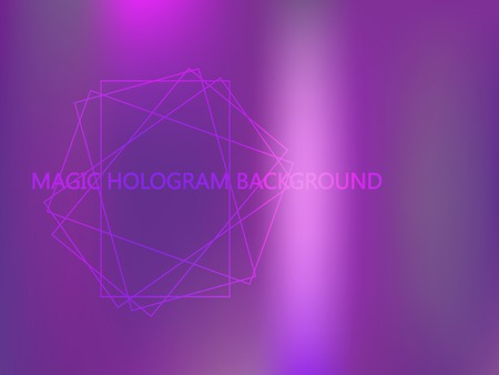 Violet, magenta, blue vector blurred bright template. Neon colors gradient banner template. A vague abstract illustration with gradient. The elegant pattern can be used as part of a brand book. Illustration