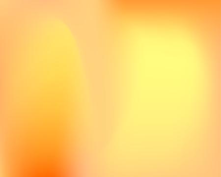 Orange Liquid Wavy Gradient Vector Background. Golden Blur Fluid Waved Template. Warm Colors Original Shiny Gradient Backdrop