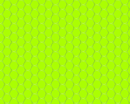 Citron Polygon Pattern Vector Design. New Geometric Template. Octagon Abstract Background. Original Mosaic Texture