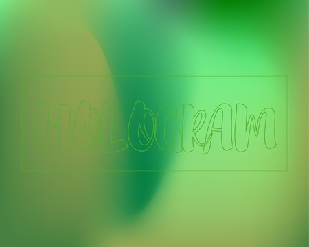 Green Colors Shiny Gradient Background. Wavy green shades mash backdrop original vector design. Dynamic gradient template for your design. Neon light blurry glitter wallpapers