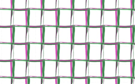 Spring colors gingham watercolor seamless pattern. Squares texture for textile. Original watercolor plaid geometric pattern for your design. New rhombus texture vector design in green, pink, violet