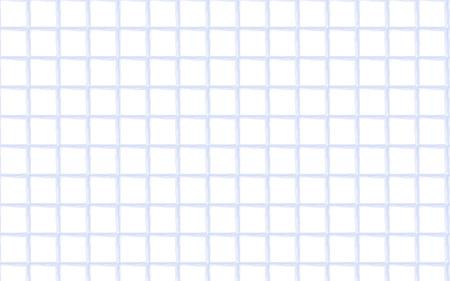 Watercolor blue gingham pattern. Monochrome squares texture for textile. Original watercolor plaid geometric pattern for your design. New rhombus texture vector design
