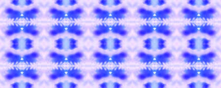 Spring Floral Ikat. Watercolor Majolica Tile. Vintage Textile Print. Gentle Violet Seamless  Patterns Lisbon Decor. Ogee Geo Pattern. Simple Lace Image. Bright Boho Rug. Stockfoto