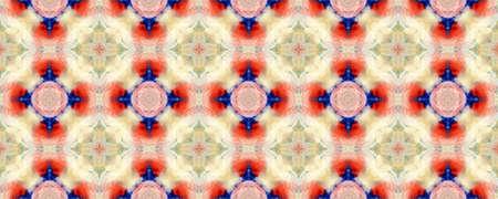 Majestic Floral Tile. Folk Embroidery. Ogee Geo Pattern. Colorful Seamless  Luxurious Lace Image. Elegant Geo Pattern. Santorini Pattern Original.