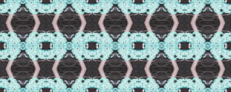 Spring Floral Ikat. Decorative Art Image. Tribal Fabric Design. Gentle Pink Seamless  Delicate Lace Motifs. Bali Cotton Print. Majolica Tiles Print. Bright Boho Rug. Stockfoto