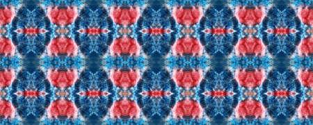 Spring Floral Ikat. Tile Japanese Geometric. Tribal Fabric Design. Gentle Pink Seamless  Decorative Art Image. Ikat Rhombus Print. Folk Embroidery. Bright Boho Rug.