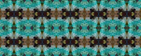 Original Tile Template.  Marrakech Texture Design. Ogee Geo Border. Light Seamless Decorative Art Image. Simple Cotton Print. Santorini Pattern Original. Watercolor Majolica Tile.
