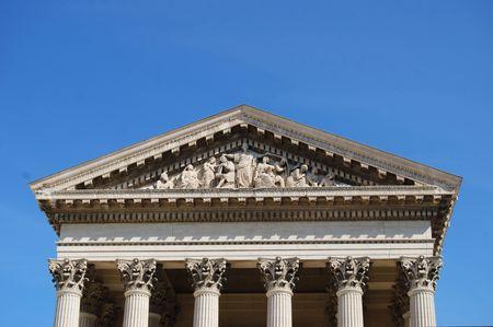 justitia: Courthouse  Foto de archivo